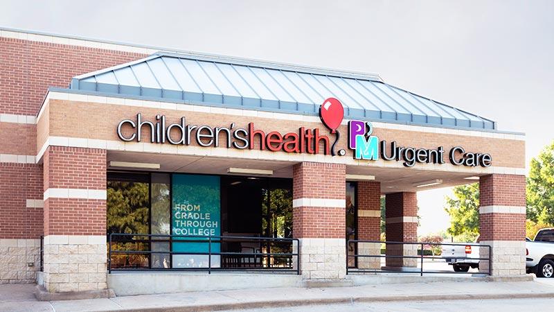 Children S Health Pm Urgent Care Flower Mound