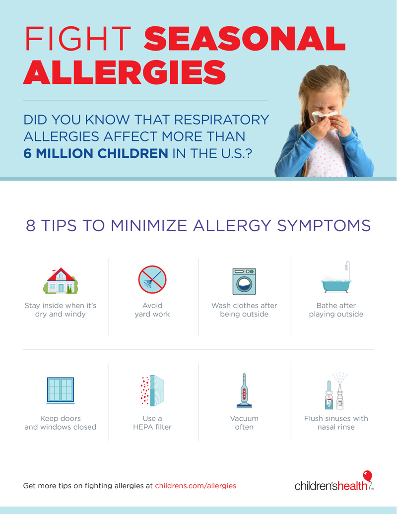 Fight seasonal allergies [Infographic]