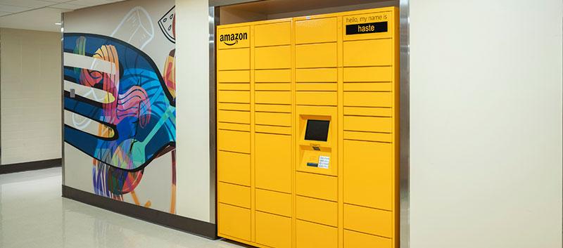 Amazon Hub Lockers