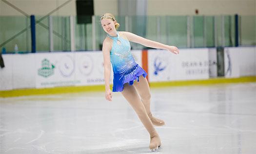 Alexa ice skating