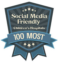 one of the most social media friendly Children's Hospitals