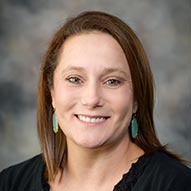 Portrait of Alexis Kennedy, pediatric oncology/hematology nurse practitioner