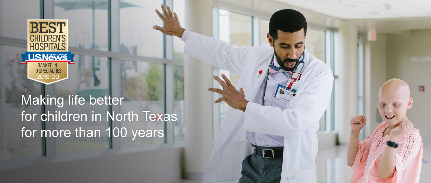 Proudly ranked in all 10 pediatric specialties