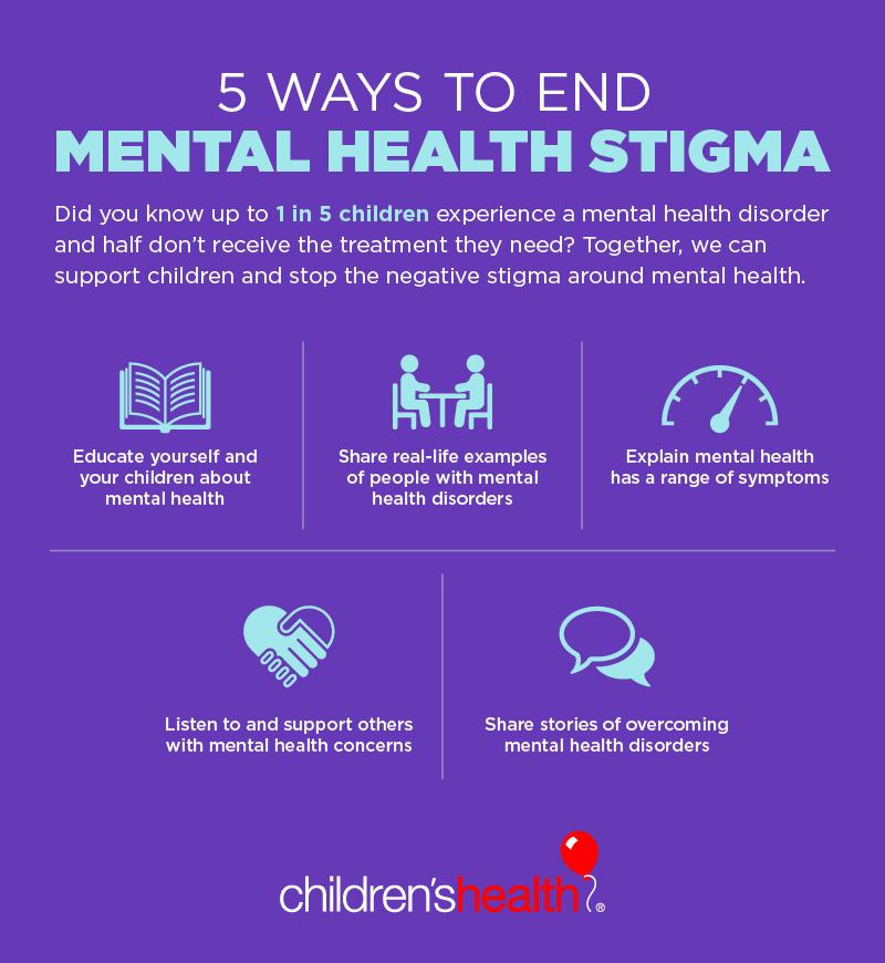 5 Ways to End Mental Health Stigma - Children's Health