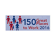 150 great places to work 2016