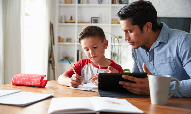 How to support your child's online learning - Children's Health