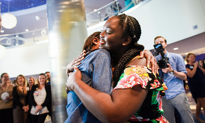 Marrow donor meets the patient she saved