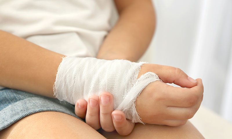Preventing and caring for your child's hand injuries