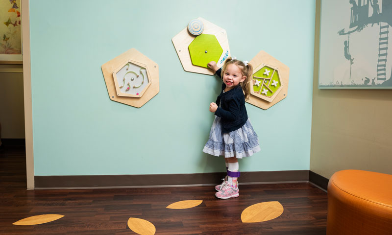 Amelia Thrives Thanks To The Rees Jones Center For Foster Care