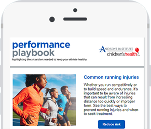 Mobile phone mock up with high school football players playing football against each other