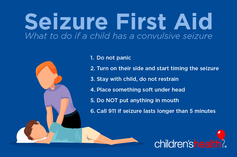 Seizures in children: Signs to look for and what to do ...