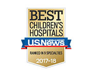 Best Children's Hospital U.S. News Ranked In 9 Specialties 2017-2018