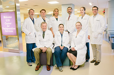 general surgery team