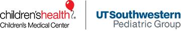 Logotipo de Children's Health y UT Southwestern
