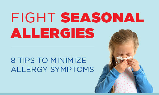 8 tips to reduce spring allergy symptoms