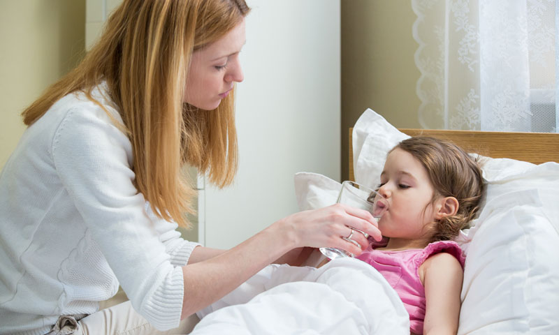 What to do with the stomach flu: Remedies for kids
