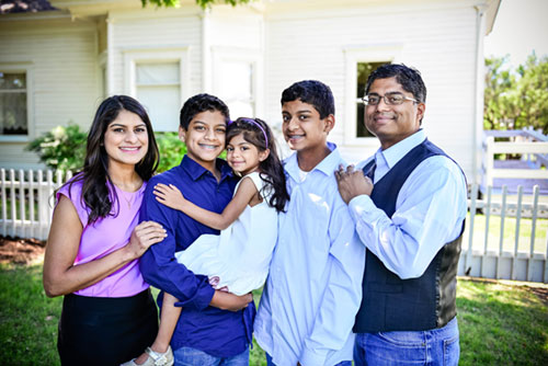 the Chacko family and their boys