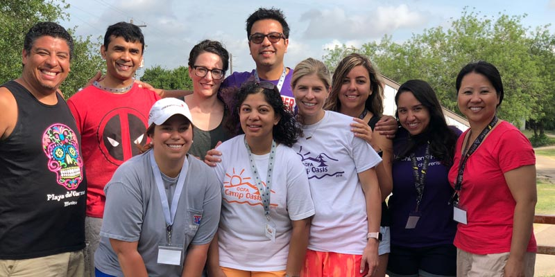 Camp Oasis - Children's Health IBD Team
